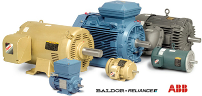 Baldor motors shop the complete line at motionsource for Used industrial electric motors