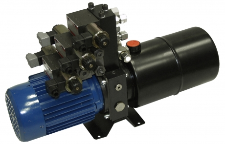 Help with electric hydraulic conversion rogue fab bender for Hydraulic pump motor units